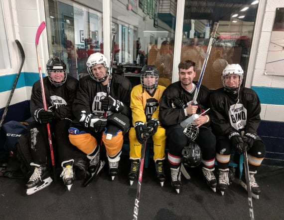 Could blind hockey be the next big sport?