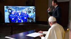 Pope Calls Space, Gets All Philosophical With