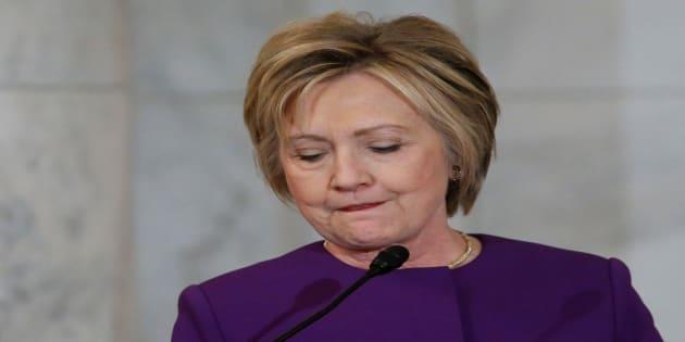Hillary Clinton à Washington D.C. le 8 décembre