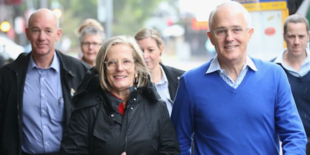 Lucy Turnbull joins the Prime Minister in Sydney to open a mental health facility.