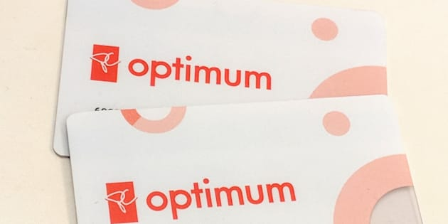 PC Optimum cards are seen in a photo.