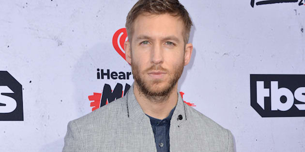 Calvin Harris attends the iHeartRadio Music Awards at The Forum on April 3, 2016 in Los Angeles, CA, USA.