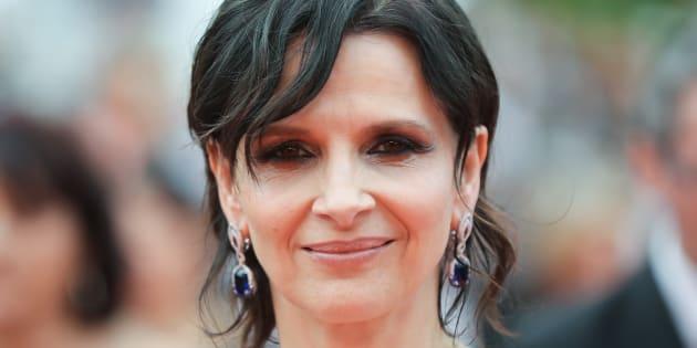 La actriz Juliette Binoche.