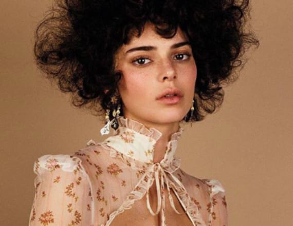 Kendall Jenner slammed for 'afro' in Vogue spread
