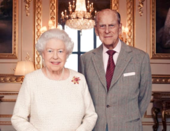 Queen Elizabeth makes Prince Philip a knight