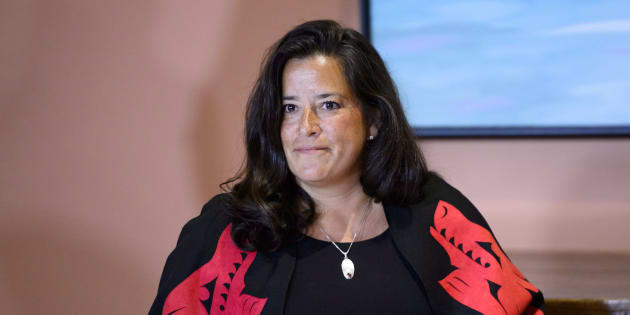 Veterans Affairs Minister Jodie Wilson-Raybould attends a swearing in ceremony at Rideau Hall in Ottawa on Jan. 14, 2019.