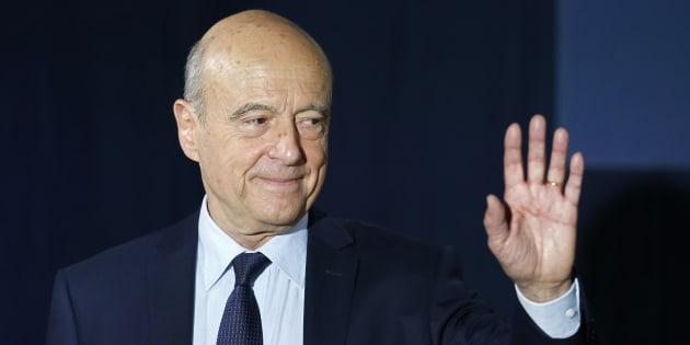 Alain Juppe après sa défaite à la primaire de la droite le 27 novembre.
