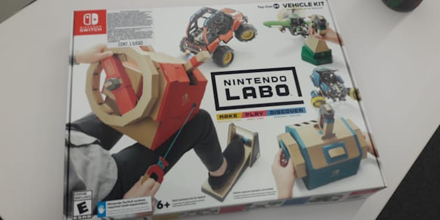 El nuevo Variety Kit 03 de Nintendo Labo