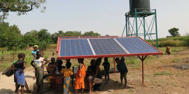 Proyecto de bombeo de agua por energía solar en Senegal, de la ONG Alianza por la Solidaridad.