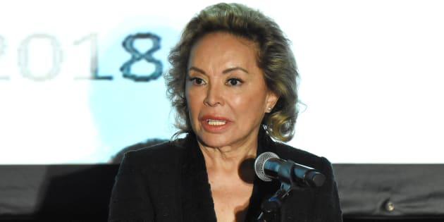 Tras más de cinco años, la Maestra Elba Esther Gordillo reapareció durante un mensaje que ofreció a los medios de comunicación en el Hotel Presidente Intercontinental, en la colonia Polanco.