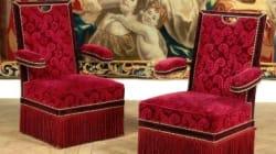 Des pièces emblématiques du Fouquet's vendues aux