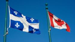 Exclusif: les francophones ne se définissent plus comme Québécois avant