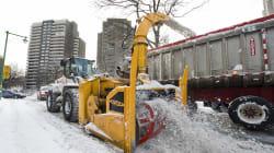 Montréal chargera la neige, avant que ça ne devienne de la