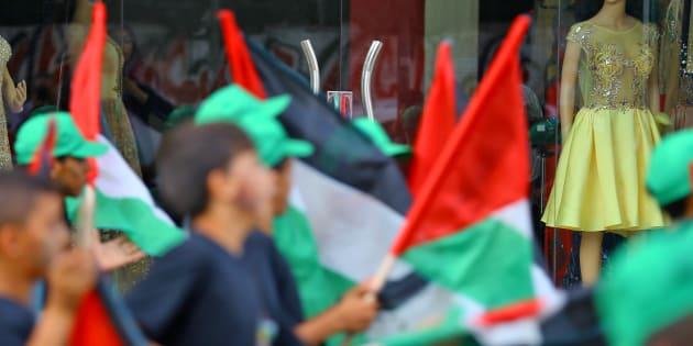 """Jérusalem: le Hamas appelle à une """"nouvelle intifada"""" après l'annonce de Donald Trump."""