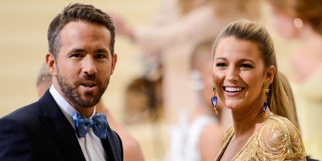 Ryan Reynolds y Blake Lively, en la gala MET de 2017.