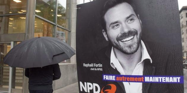 Le NPDQ, un parti de gauche «non souverainiste», a obtenu 0,57% des voix lors des élections provinciales du 1er octobre 2018.