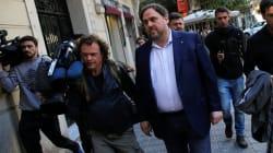 Catalanes encarcelados, del partido ERC, aceptan la regla de Madrid del control de la