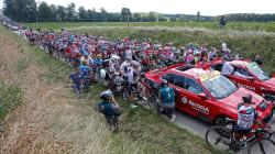 La 16e étape du Tour de France interrompue après des jets de gaz