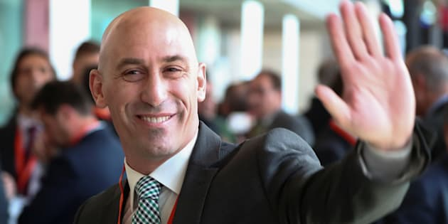 Resultado de imagen de Luis Rubiales, presidente de la Real Federación Española de Fútbol