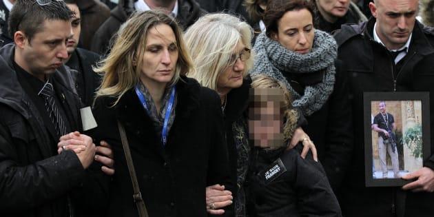 Ingrid Brinsolaro n'a pas pas été invitée à l'inauguration d'une place en l'honneur de Franck Brinsolaro