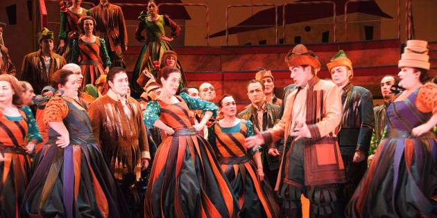 Actuación en el Teatro de la Zarzuela de Madrid.
