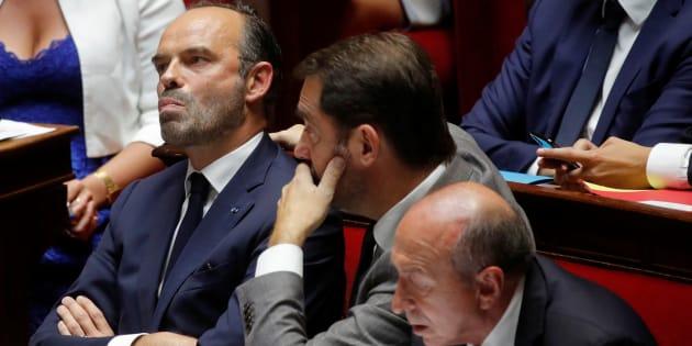 Edouard Philippe à l'Assemblée nationale le 24 juillet.