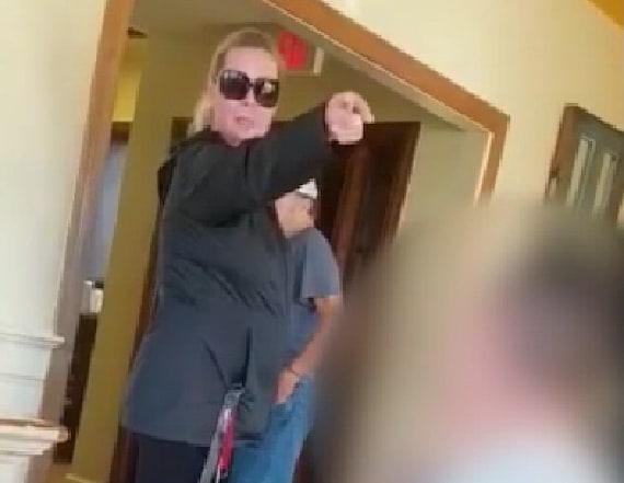 Video shows woman harass family for speaking Spanish