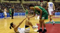 韓国と北朝鮮は、バスケットボールでひとつになった。「平和」と「繁栄」のユニフォームを着て。