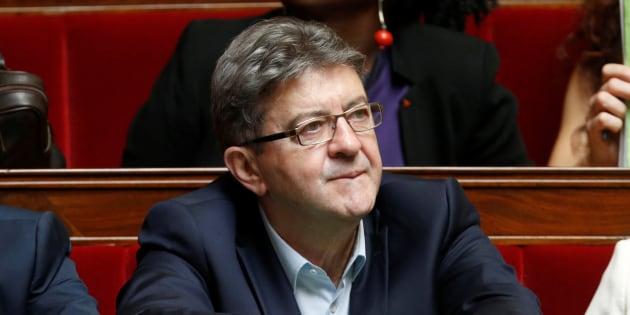 Jean-Luc Mélenchon à l'Assemblée nationale en juillet 2017.