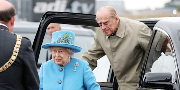 Photo d'archives de la reine Élisabeth II et du prince Philip