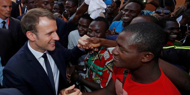 Macron annonce un fonds d'un milliard d'euros pour les PME africaines.