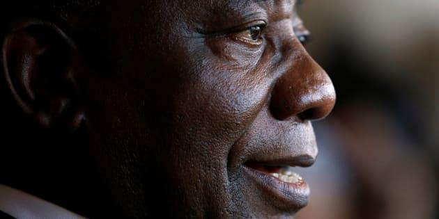 South African Deputy President Cyril Ramaphosa.