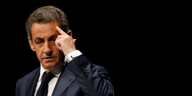 Nicolas Sarkozy, en meeting aux Sables d'Olonne le 1er octobre.