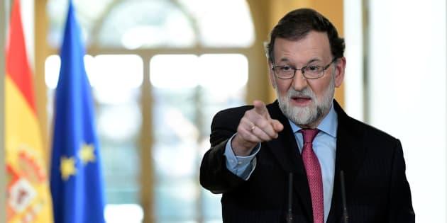 Mariano Rajoy en la presentación de la AP-9.