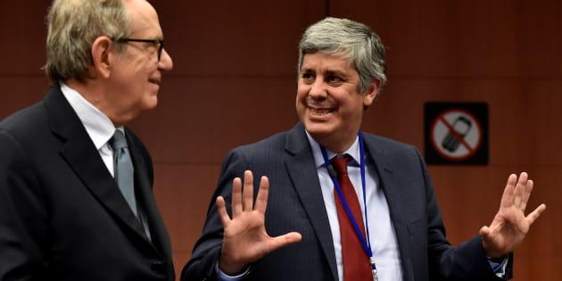 Il portoghese Centeno guiderà Eurogruppo. Dijsselbloem: Necessarie misure Italia
