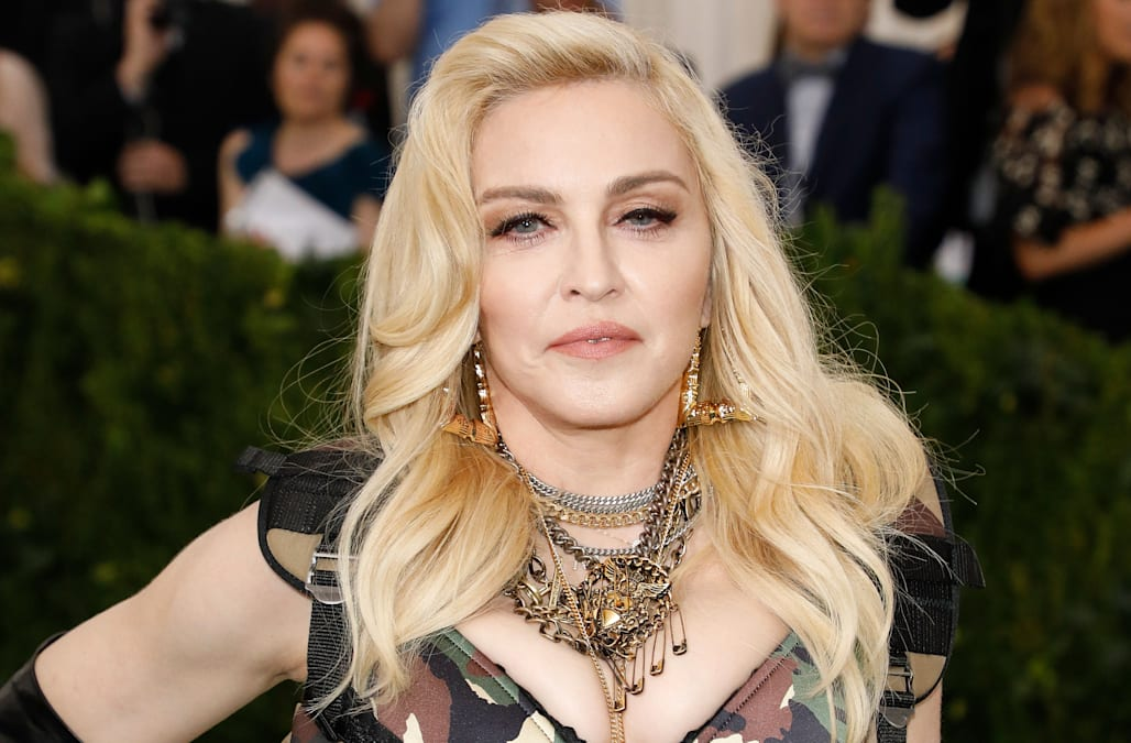 Madonna Posts Nude Photos On Instagram