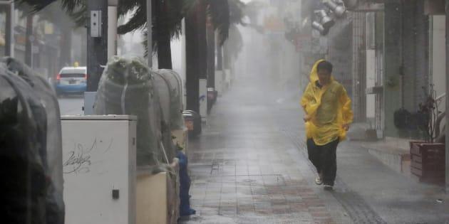 Au Japon, le typhon Trami a fait ses premières victimes