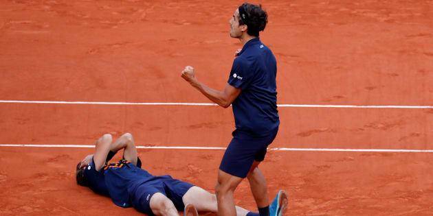 La paire Nicolas Mahut - Pierre-Huges Herbert remporte son premier Roland-Garros