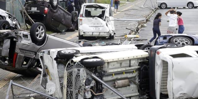 Le typhon Jebi fait au moins 10 morts au Japon.