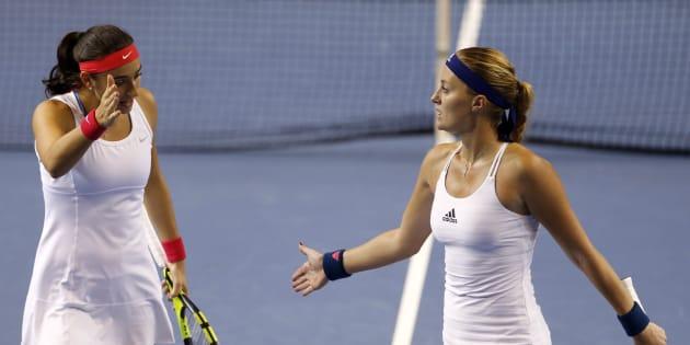 Défaite de la paire Kristina Mladenovic-Caroline Garcia, la République Tchèque gagne la finale de la Fed Cup