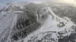 Douze skieurs sont blessés lors d'une éruption volcanique au