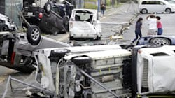 Le typhon Jebi fait au moins 10 morts au