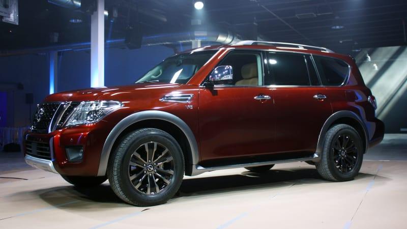 2017 Nissan Armada Configurations >> 2017 Nissan Armada Prepares To Patrol The Us Autoblog