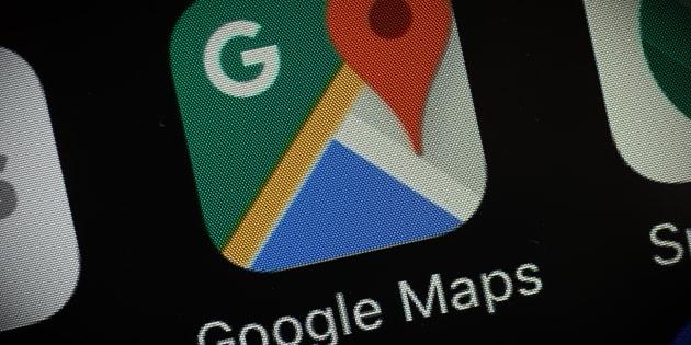 Imagen de la app de Google Maps.