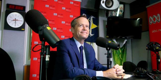 Bill Shorten on ABC radio on Tuesday