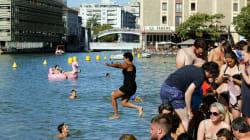 Canal de París listo para recibir a cientos de nadadores este