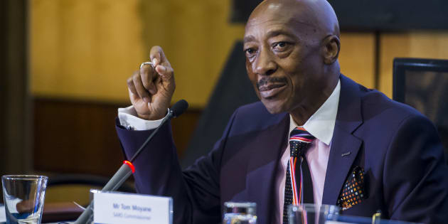 South African Revenue Services (SARS) commissioner Tom Moyane.