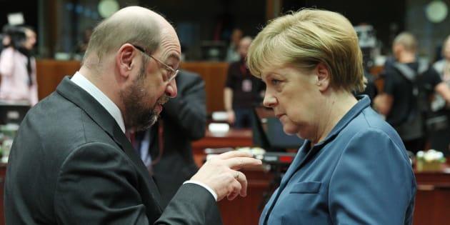 Martin Schulz peut-il battre Angela Merkel? On a demandé au HuffPost Allemagne