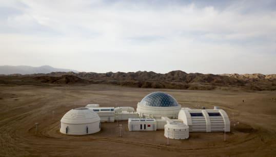 Vivre comme sur Mars? Visitez cette base aux lignes