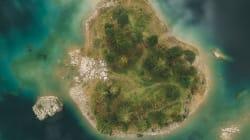 Su familia y las Islas